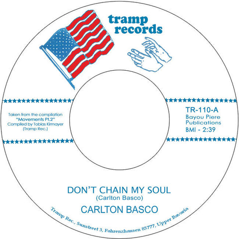 TR-110 Carlton Basco-Don't Chain My Soul/The Illusion