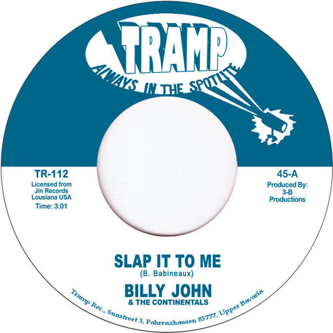 TR-112 Billy & The Continentals-Slap It To Me/Po'Boy-I Wanna Dance
