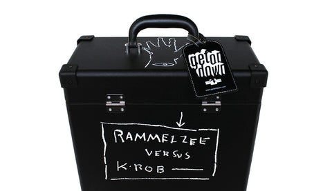 GET-58008 K-Rob & Rammellzee - Beat Bop Record Carrying Case