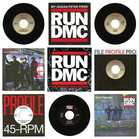 GET-56037 RUN DMC-The Singles Collection (7 Inch Box Set)