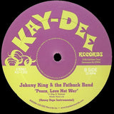 KD-1202 Johnny King & The Fatback Band-Peace Love Not War