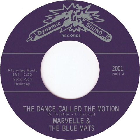 TR-2001 Mellow Man/The Dance Called The Motion - Marvelle & The Blue Mats
