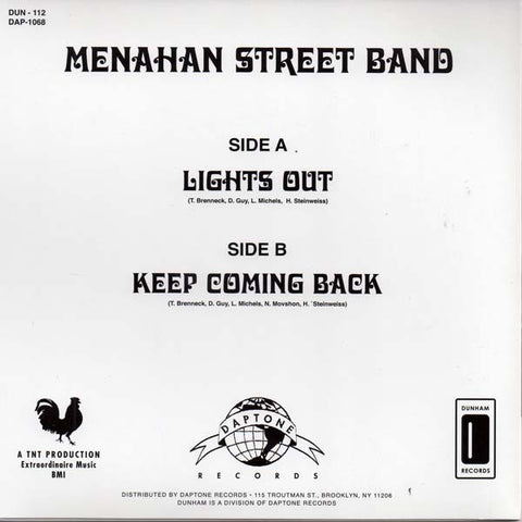 DAP-1068 Menahan Street Band-Lights Out/Coming Back