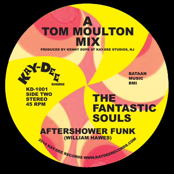 KD-1001 The Fantastic Souls-Aftershower Funk ( A Tom Moulton Mix)