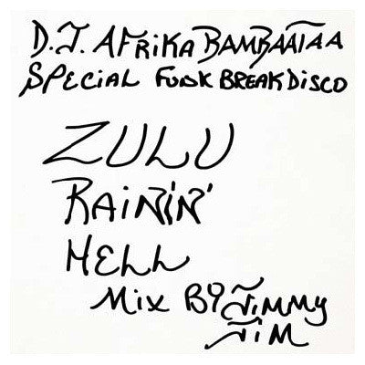 BHY-101-LP Jimmy Jim-Zulu Rainin' Hell Mix