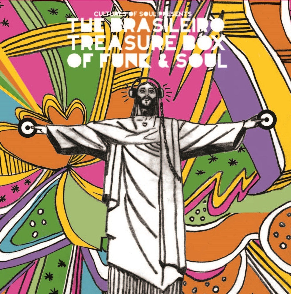 COS-015-7-0BI Cultures Of Soul Presents The Brasileiro Treasure Box Funk & Soul