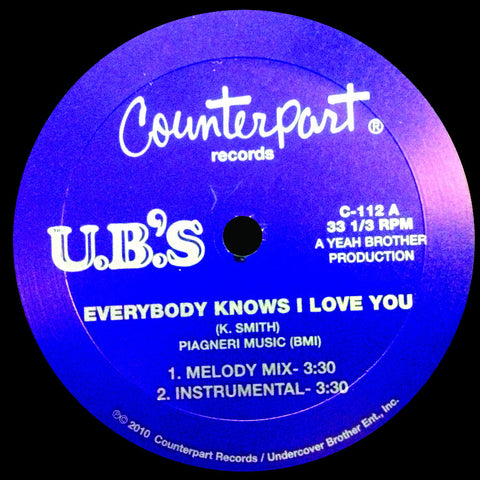 C-112 Kenny Smith-Everybody Know I love You/Think About Number One