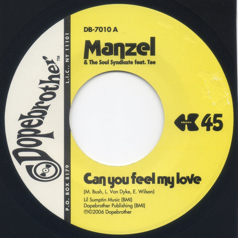# 12 (DB-7010) Manzel-Can You Feel My Love