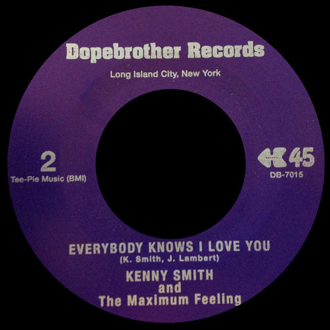 DB-7015 Kenny Smith and The Maximum Feeling-Skunkie/Everybody Knows I Love You