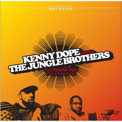 DW-064 The Jungle Brothers-I'll House You Kenny Dope Remix