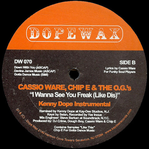 DW-070 Cassio Ware-I Wanna See You Freak (Like Dis)