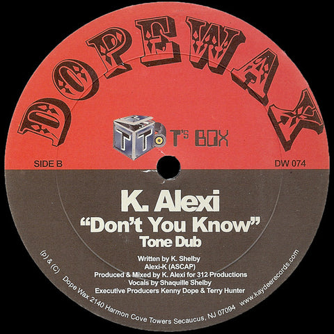 DW-074 K-Alexis-Don't Know