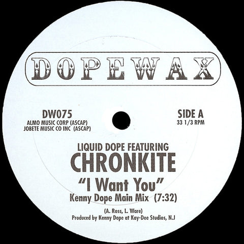 DW-075 Liquid Dope Feat Chronkite-I Want You