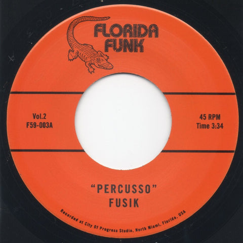 # 38 (F59-003) Fusik-Percuso/Groove In C