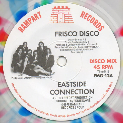 #136 (FMG-12) Eastside Connection-Frisco Disco/It's Real