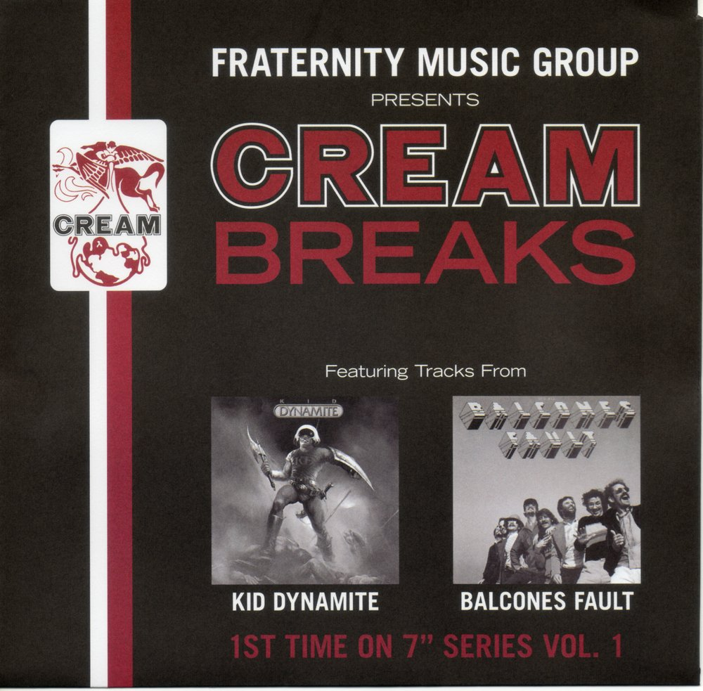 FMG-3 Cream Breaks Uphill Peace Of Mind - Kid Dynamite