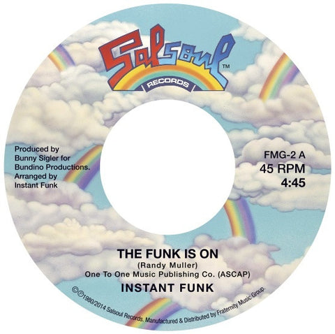 #27 (FMG-2) Instant Funk/Gaz-The Funk Is On/Sing Sing