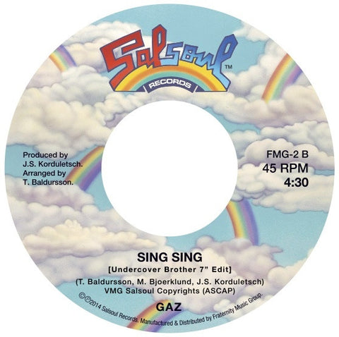 FMG-2 Instant Funk/Gaz-The Funk Is On/Sing Sing