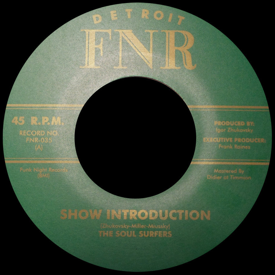 FNR-035 The Soul Surfers-Show Inrtoduction/Romeo's Raskland