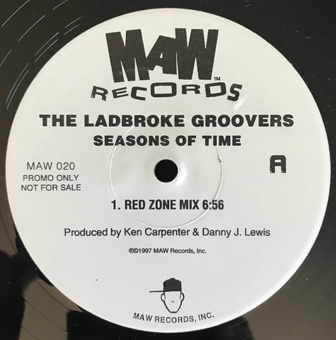 Maw-020 Seasons Of Time - The Ladbroke Groovers