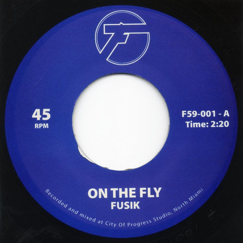 F59-001 Fusik – On The Fly / Battlefield