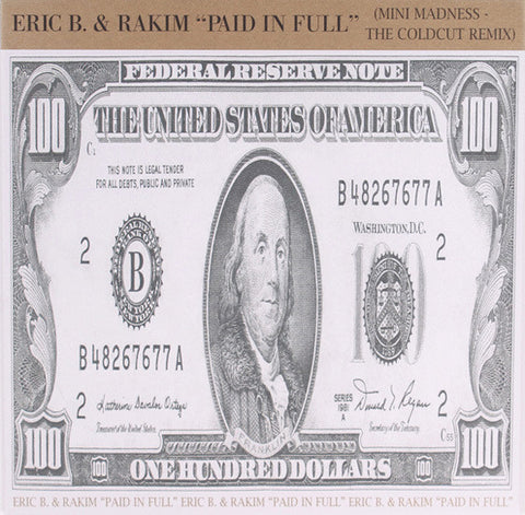 GET-718 Eric B & Rakim-Paid In Full