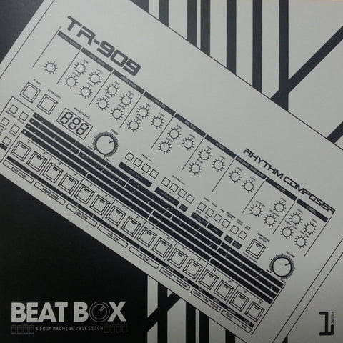 GET-2002 TR-909 Beatbox A Drum Machine Obsession Flexi Set