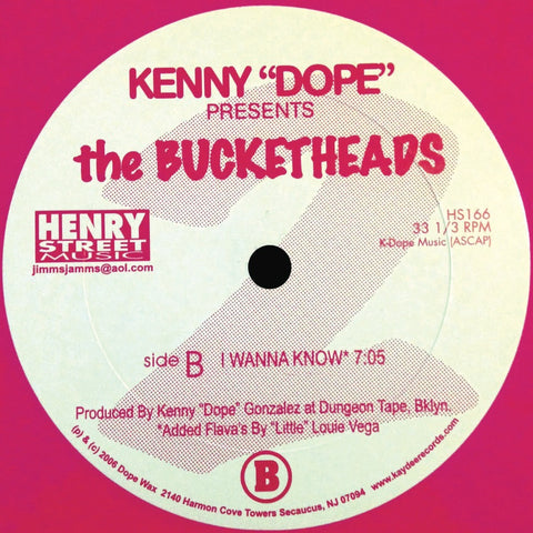 "HS-166 THE BUCKETHEADS THE BOMB"" (Pink Vinyl)"