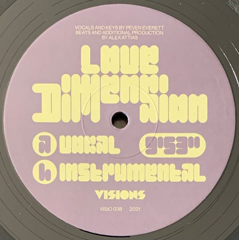 #449 Love Dimension - Alex Attias & Peven Everett