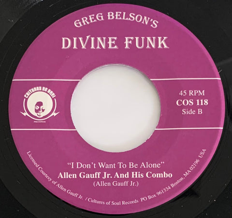 #484 I've Got Power In My Mind - Preacherman Isidore Womack / I Don't Want To Be Alone - Allen Gauff