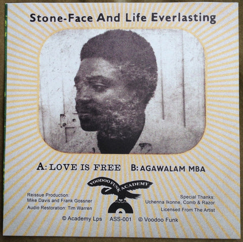 #1 (ASS-001) Stoneface & Life Everlasting-Love Is Free/Agawalam Mba