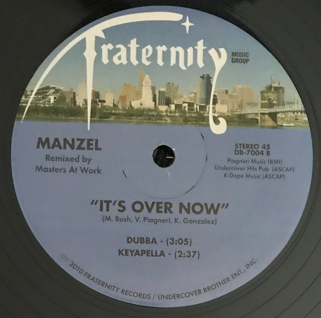 DB-7004 It's Over Now - Manzel (Masters At Work Remixes)