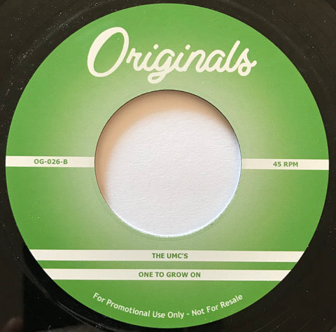 OG-026 The Umc's-One To Grow On/Blue Mitchell Good Humor Man