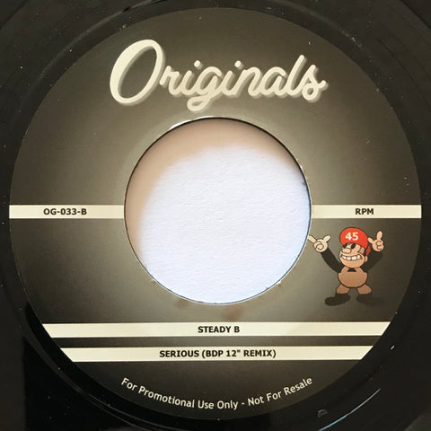 OG-033 Steady B-Serious/The Turtles-I'm Chief Kamanawanalea