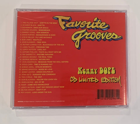 Kenny Dope - Favorite Grooves - Mix Cd