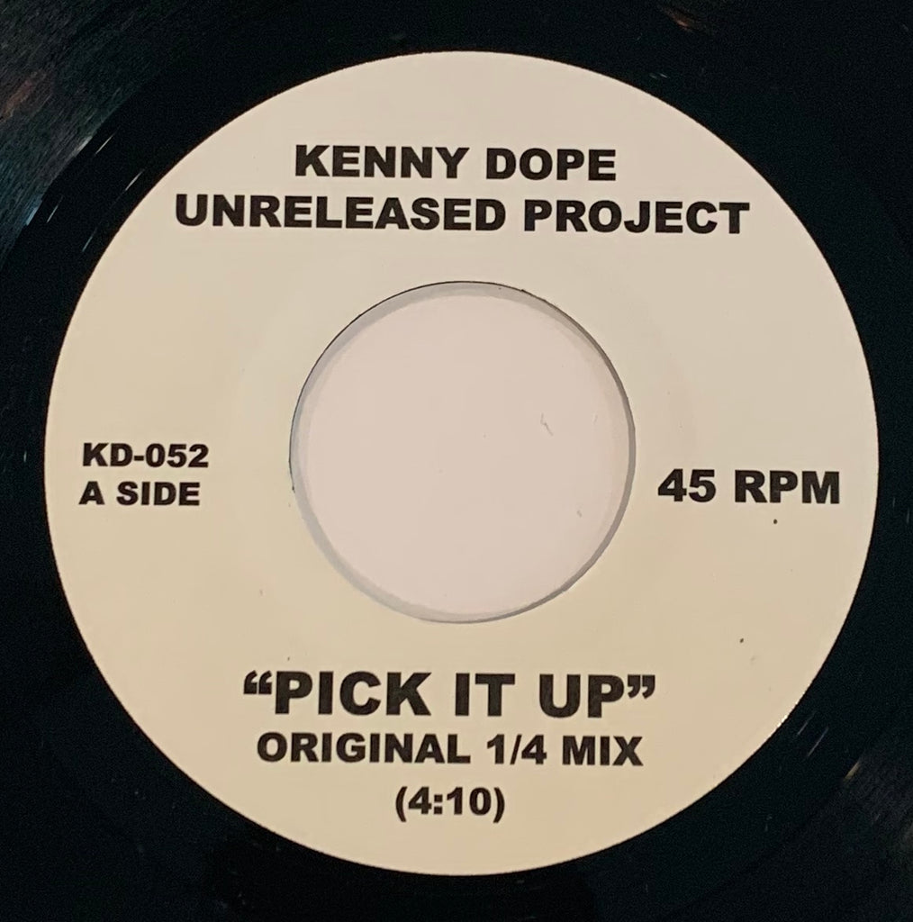 KD-052 Kenny Dope - Pick It Up/That Gangsta Shit