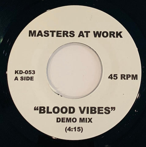 "KD-053 Masters At Work/House Brigade ""Blood Vibes/A Madd Cry"
