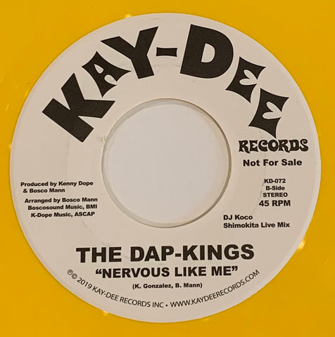 KD-072 The Dap-Kings Nervous Like Me / Kenny Dope & DJ Koco