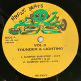 OB-105 Thunder & Lightening/Barrabas -Bumpin' Bus Stop/ Woman