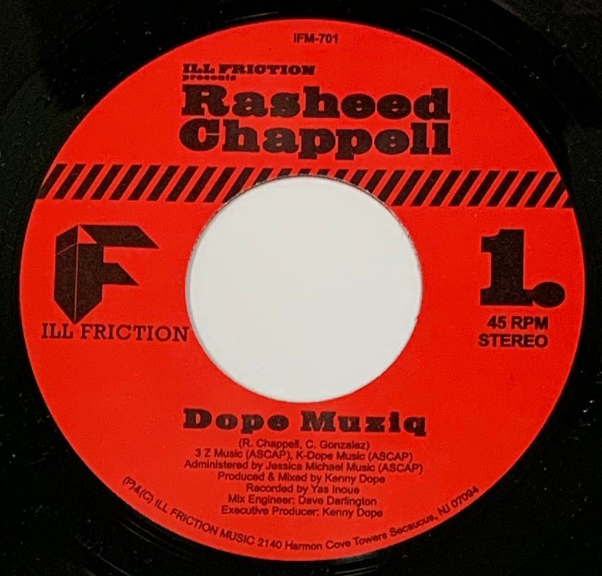 #133 Rasheed Chappell - Dope Musiq/Resurrection