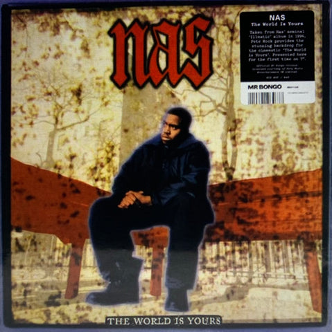 #282 The World Is Yours - Nas (1st Time On 45)