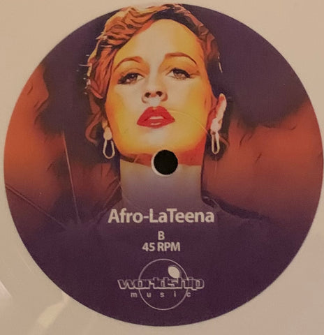 #295 The Trilaterals - Afro-LaTeena (White Vinyl)