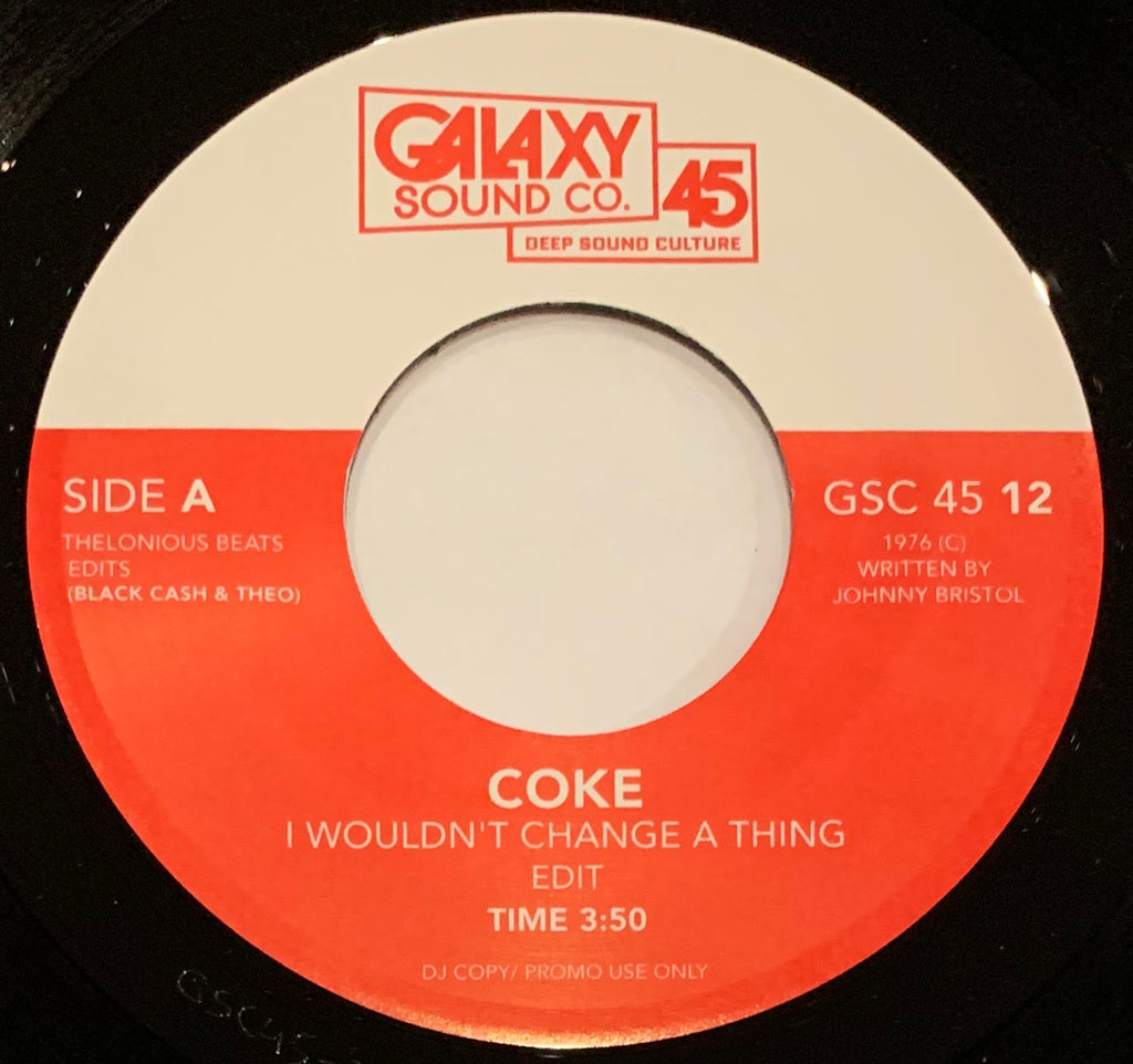 #308 I Wouldn't Change A Thing-Coke/Hit Or Miss-Odetta