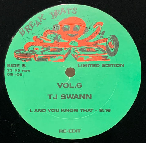 OB-106 Gary Byrd/TJ Swann - Soul Travelin'/And You Know That
