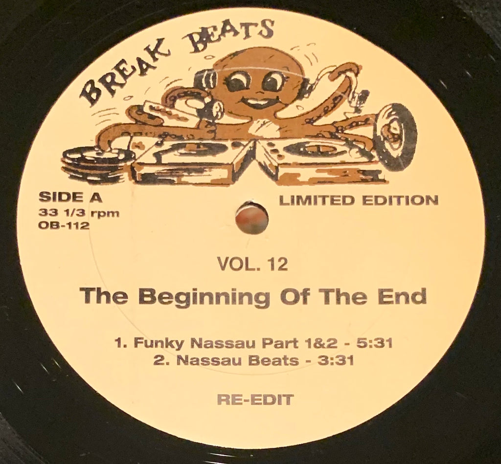 OB-112 The Beginning OF The End/Vicky Anderson - Funky Nassau/Message From The Soul Sisters
