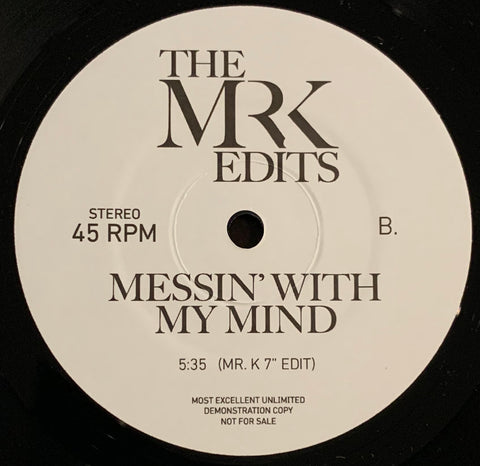 #325 What Can I Do For You ?/Messin' With My Mind -Mr.K