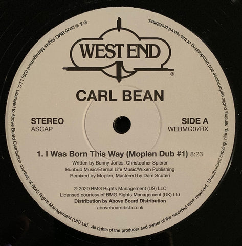 #337 I Was Born This Way - Carl Bean (Moplen Dubs)