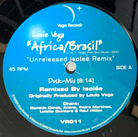 VR - 011 Africa/Brasil - Louie Vega Unreleased Isolee Remix