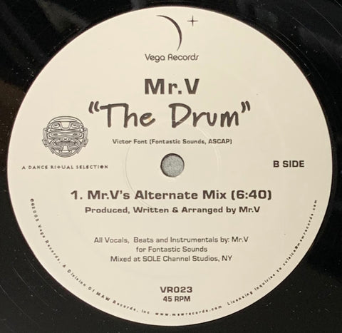 VR - 023 The Drum - Mr. V