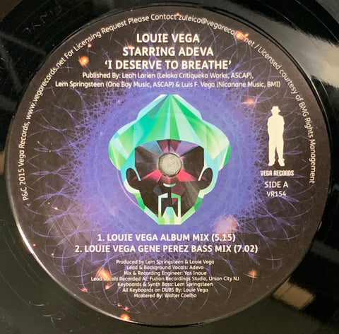 VR - 154 I Deserve To Breathe - Adeva
